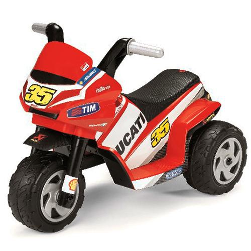 Детский электромобиль Peg-Perego MD0005 Mini Ducati детский электромобиль peg perego ed1165 corral bearcat