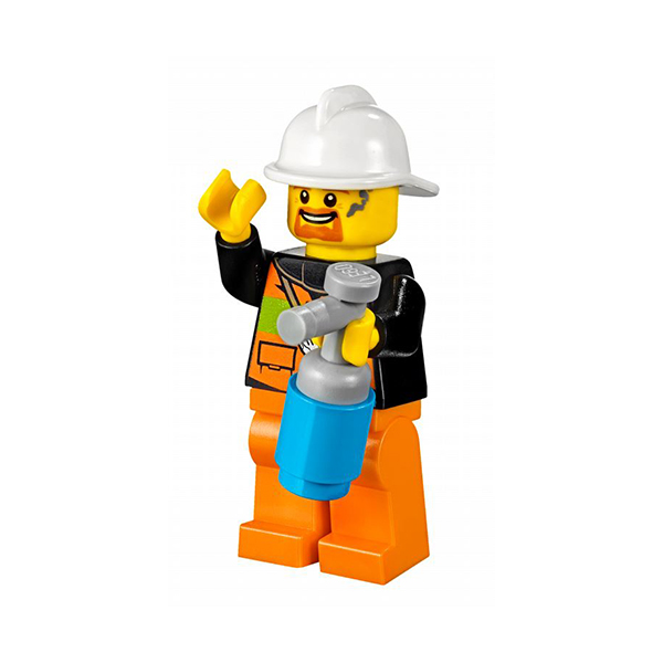 Lego Juniors 10740 Конструктор Лего Джуниорс Чемоданчик Пожарная команда