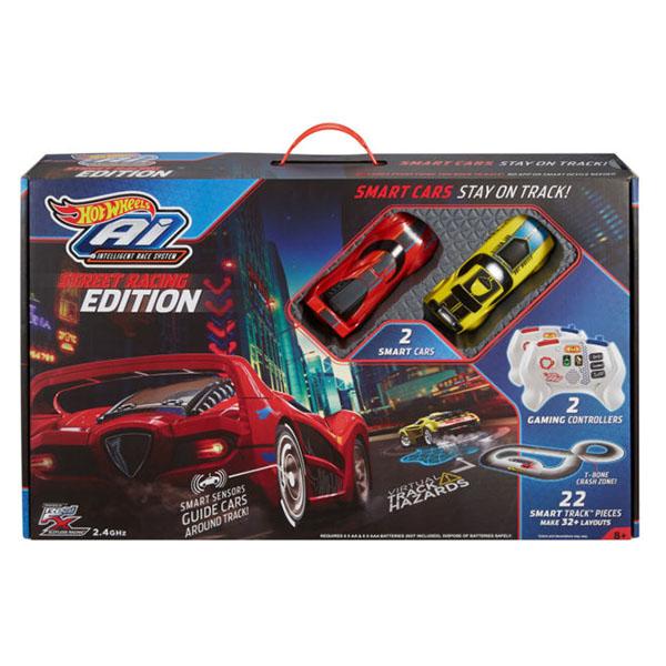 "Mattel Hot Wheels FDY09 Хот Вилс ""Умная"" трасса с Р/У машинками версия 2:0 - стрит рейсинг"