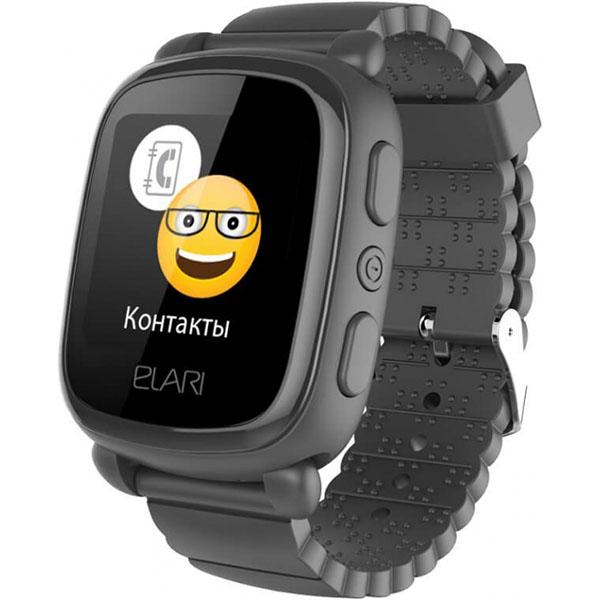 Elari ELKP2BLK Часы KidPhone 2 черные