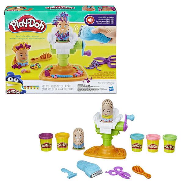 Hasbro Play-Doh E2930 Плей-До Сумасшедший Парикмахер игровой набор play doh битва халка