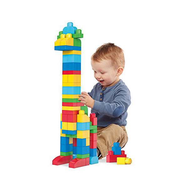 Mattel Mega Bloks DCH63 Мега Блокс Мой первый конструктор 80 деталей