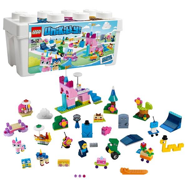 LEGO Unikitty 41455 Конструктор Лего Юникитти Коробка для творческого конструирования Королевство конструктор lego unikitty 41453 вечеринка