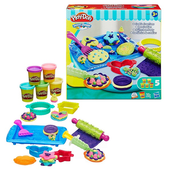 Hasbro Play-Doh B0307 Игровой набор Магазинчик печенья наборы для лепки play doh игровой набор сумасшедшие прически