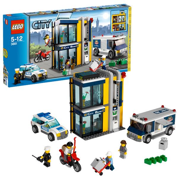 Lego City 3661 Конструктор Лего Город Инкассация в банке