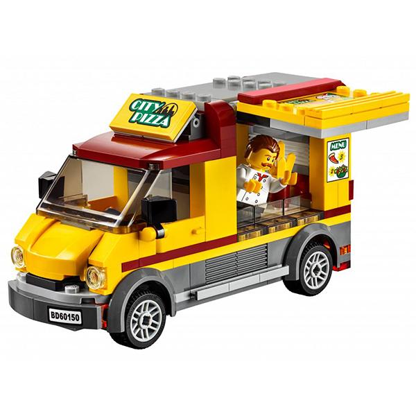 Lego City 60150 Лего Город Фургон-пиццерия