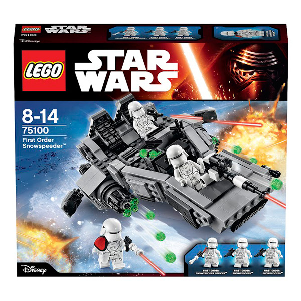 Lego Star Wars 75100 Конструктор Лего Звездные Войны Снежный спидер Первого Ордена