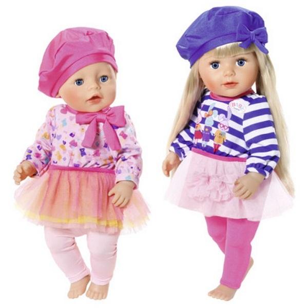 "Zapf Creation Baby born 824-528 Бэби Борн Одежда ""В погоне за модой"""