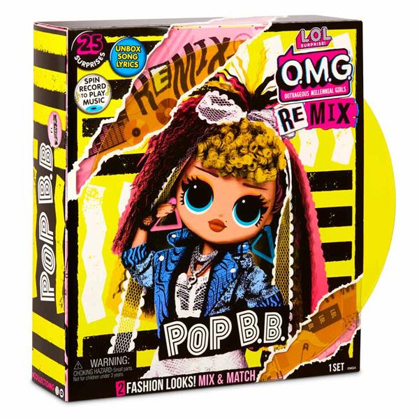 L.O.L. Surprise 567257 Кукла L.O.L. OMG Remix-Pop B.B.
