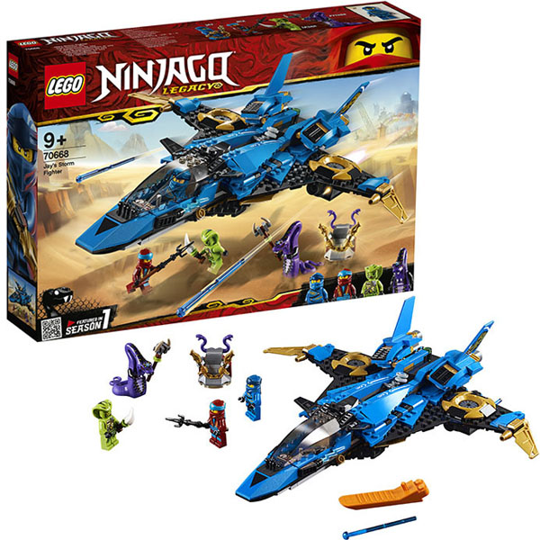 цена на Lego Ninjago 70668 Конструктор Лего Ниндзяго Штормовой истребитель Джея