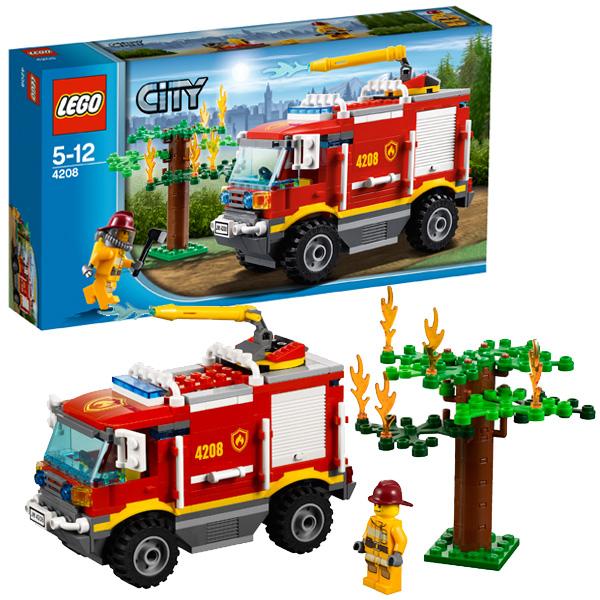 LEGO City 4208 Конструктор ЛЕГО Город Пожарный внедорожник