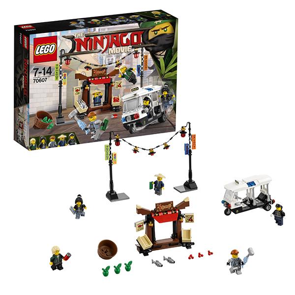 Lego Ninjago 70607 Лего Ниндзяго Ограбление киоска в НИНДЗЯГО Сити lego lego ninjago 70621 атака алой армии