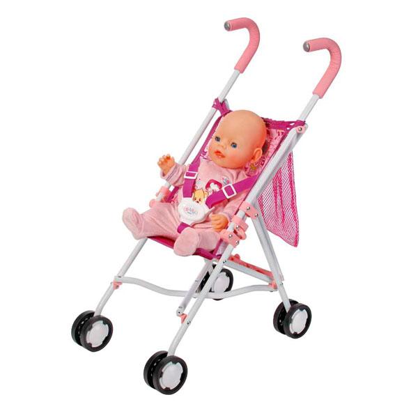 Zapf Creation Baby born 819-678 Бэби Борн Коляска-трость с сеткой