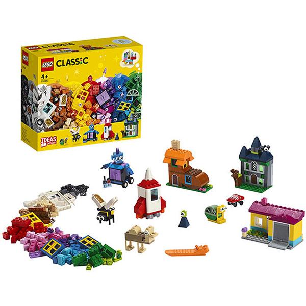 LEGO Classic 11004 Конструктор ЛЕГО Классик Набор для творчества с окнами lego конструктор классик набор для творчества 10692 от 4 лет