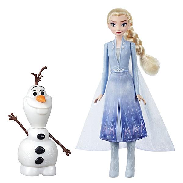 Hasbro Disney Princess E5508 Игровой набор ХОЛОДНОЕ СЕРДЦЕ 2 Эльза и Олаф