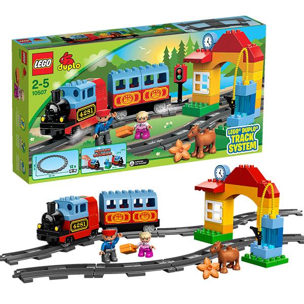 Lego Duplo 10507 Лего Дупло Мой первый поезд lego duplo 10508 лего дупло большой поезд