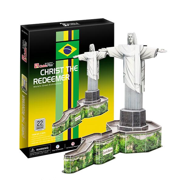 Cubic Fun C187h Кубик фан Статуя Христа-Искупителя (Бразилия)