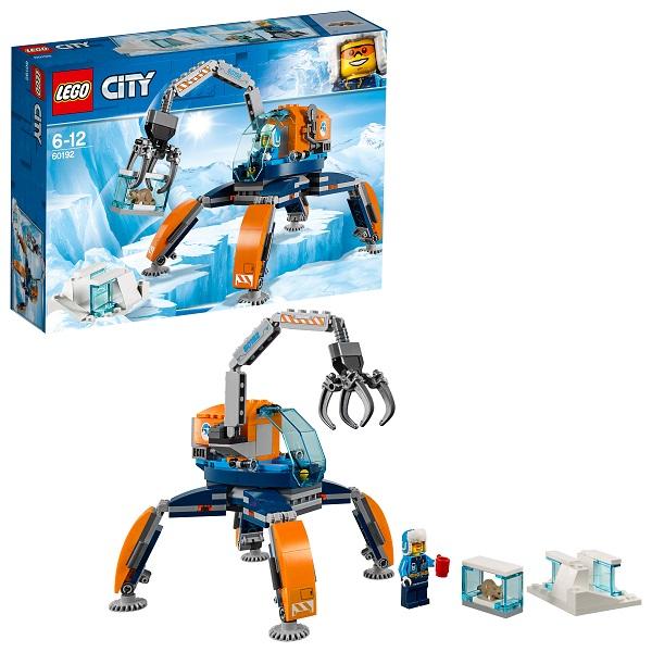 LEGO City 60192 Конструктор ЛЕГО Город Арктическая экспедиция Арктический вездеход lego city 60192 лего сити арктический вездеход