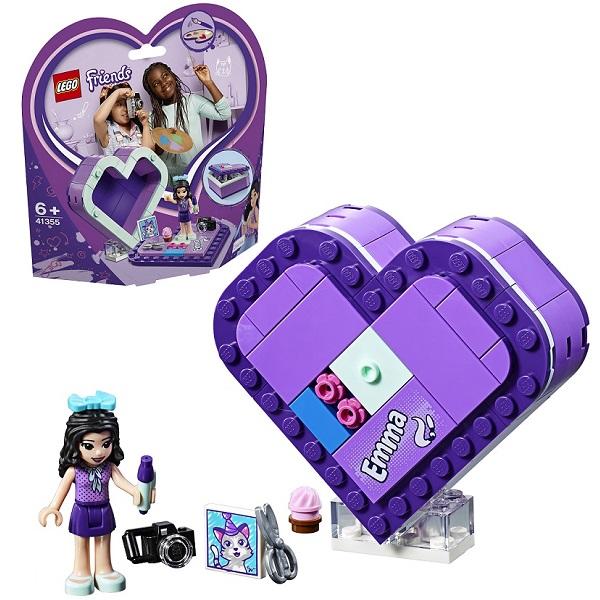 LEGO Friends 41355 Конструктор Лего Подружки Шкатулка-сердечко Эммы цена