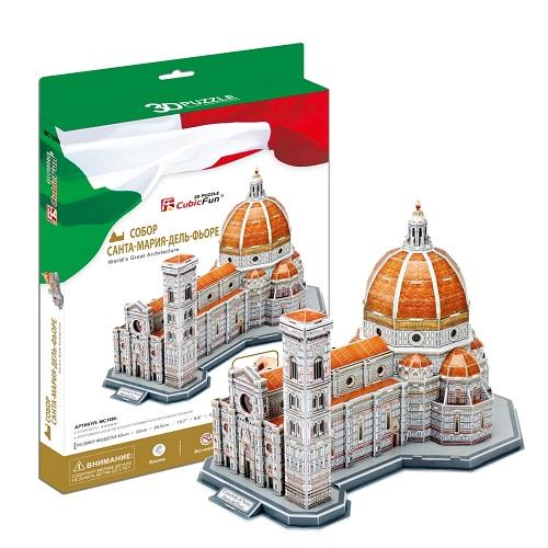 Cubic Fun MC188h Кубик фан Собор Санта-Мария-дель-Фьоре (Италия) cubic fun mc117h кубик фан собор святого павла великобритания