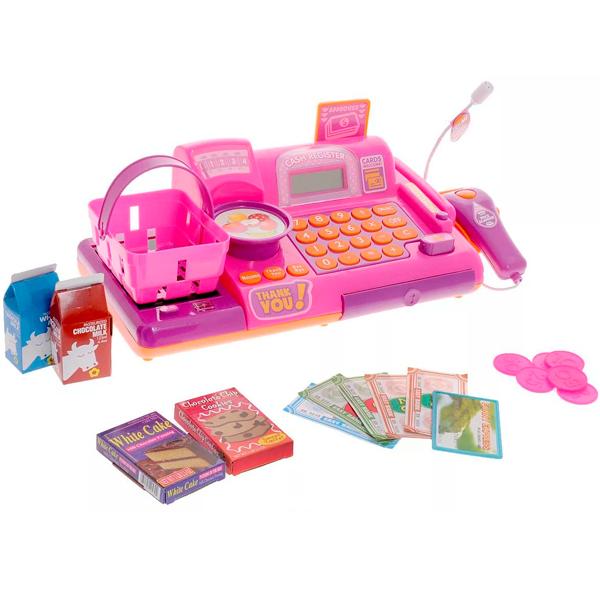 Boley 74920 Касса-калькулятор с микрофоном (в ассортименте) boley игровой набор инструментов 7 шт boley