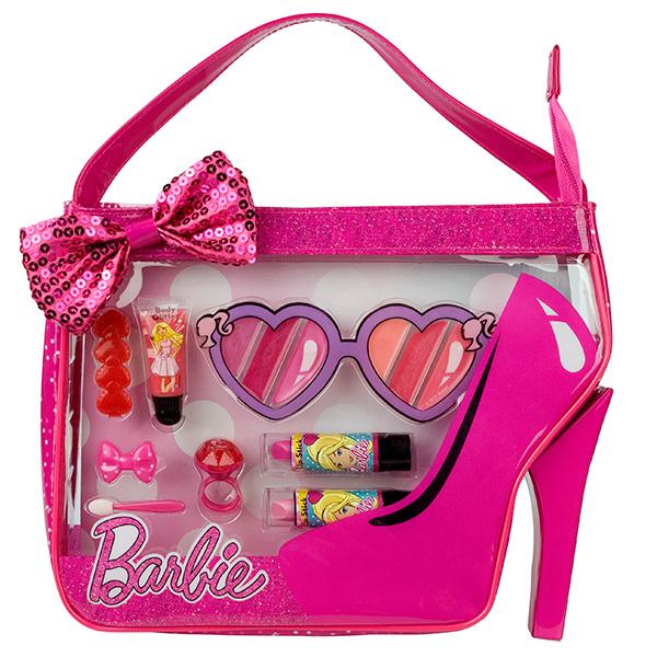Markwins 9600951_9 Barbie Набор детской декоративной косметики в сумочке