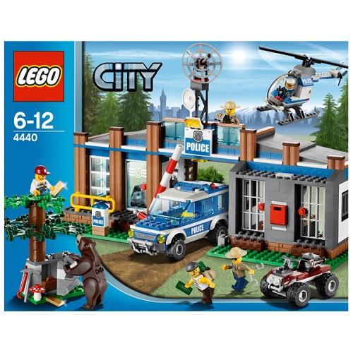Lego City 4440 Конструктор Лего Город Пост лесной полиции