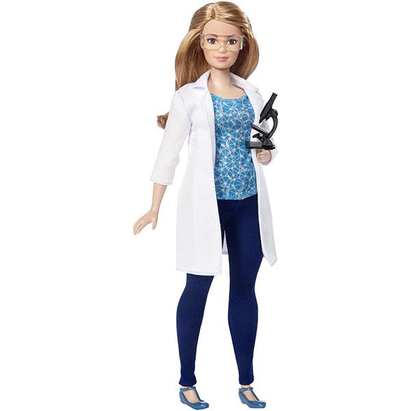 Mattel Barbie DVF60 Барби Кукла из серии Кем быть? barbie набор сестра барби с питомцем barbie dmb26