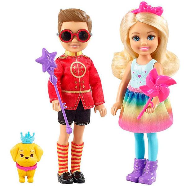Фото - Mattel Barbie FRB14 Барби Челси и Нотто набор школьниика barbie