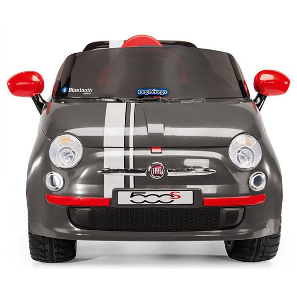 Детский электромобиль Peg-Perego ED1173 Fiat 500 S Grey R/C