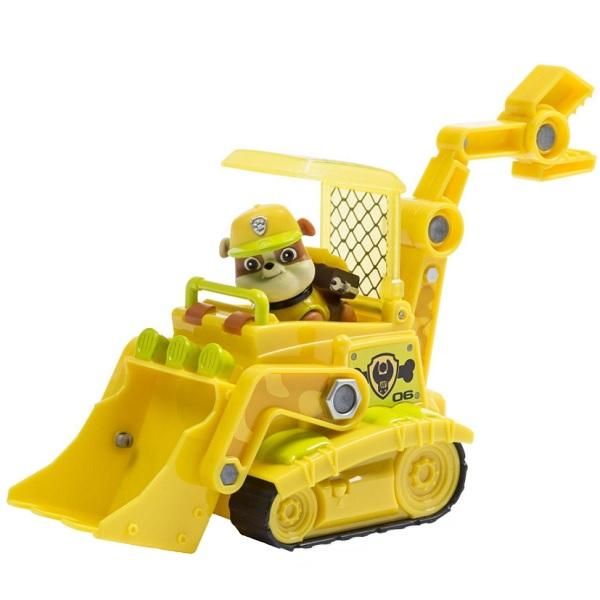 Paw Patrol 16702-Rub Щенячий патруль Машина спасателя со щенком Крепыш