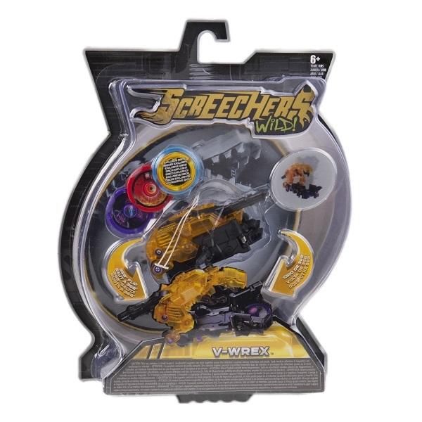 Screechers Wild 34824 Машинка-трансформер Ви-Рекс л2