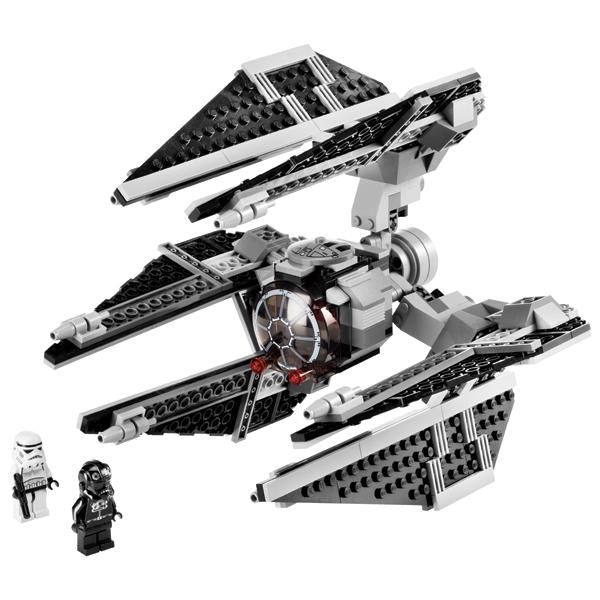 Lego Star Wars 8087 Конструктор Лего Звездные войны Истребитель TIE