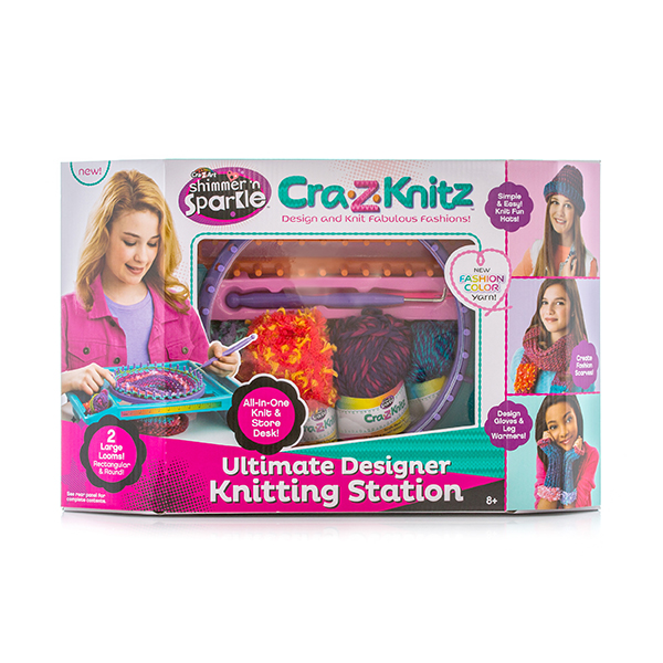 Cra-Z-Knitz 17118 Крейзи Нитс Вязальная станция большая