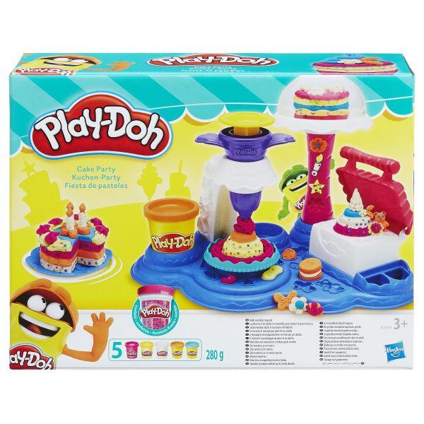 Hasbro Play-Doh B3399 Игровой набор Сладкая вечеринка play doh игровой набор праздничный торт