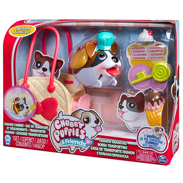 Chubby Puppies 56707 Упитанные собачки Набор с сумкой-переноской (в ассортименте)