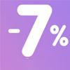 Скидка 7% по социальной карте