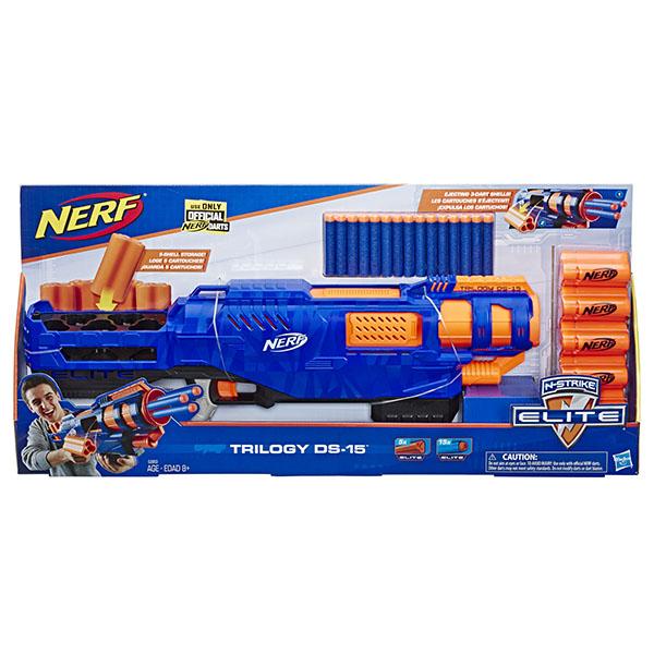 Hasbro Nerf E2853 Нерф Игровой набор бластер Элит Трилоджи ДС-15
