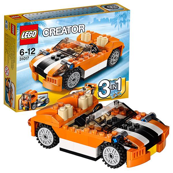 Конструктор Lego Creator 31017 Гоночная машина Сансет