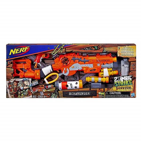 Hasbro Nerf E1754 Нерф Зомби Выживший