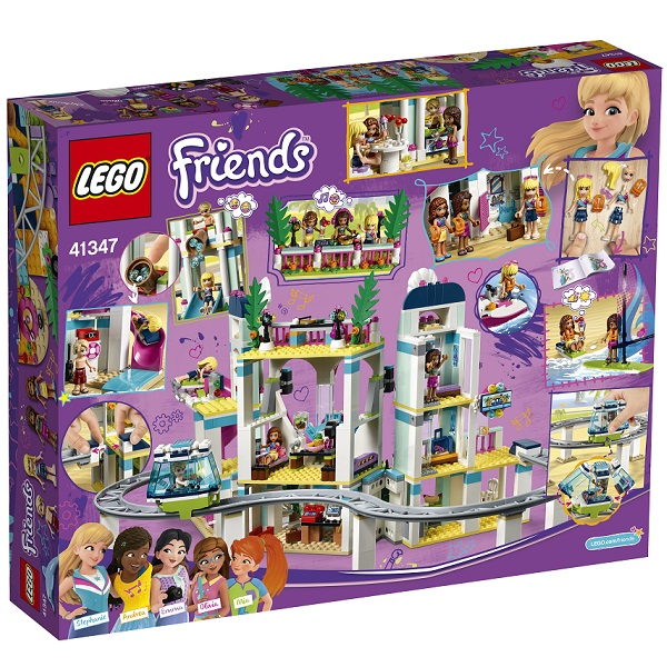 LEGO Friends 41347 Конструктор ЛЕГО Подружки Курорт Хартлейк-Сити