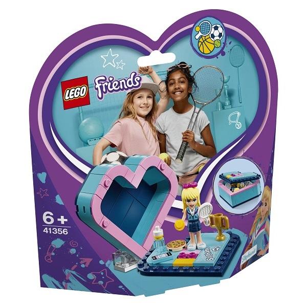 LEGO Friends 41356 Конструктор ЛЕГО Подружки Шкатулка-сердечко Стефани