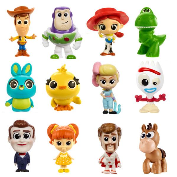 цена Mattel Toy Story GHL54 История игрушек-4, мини-фигурки (новые персонажи) онлайн в 2017 году