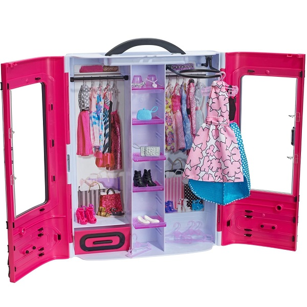 Mattel Barbie DMT57 Барби Розовый шкаф модницы mattel barbie dmb27 барби сестра barbie с питомцем
