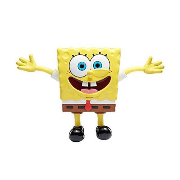 SpongeBob EU691101 Игрушка-антистресс пластиковая Спанч Боб мягкая игрушка spongebob спанч боб со звуковыми эффектами eu690903