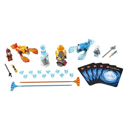 Лего Чима 70156 Конструктор Лед против Пламени