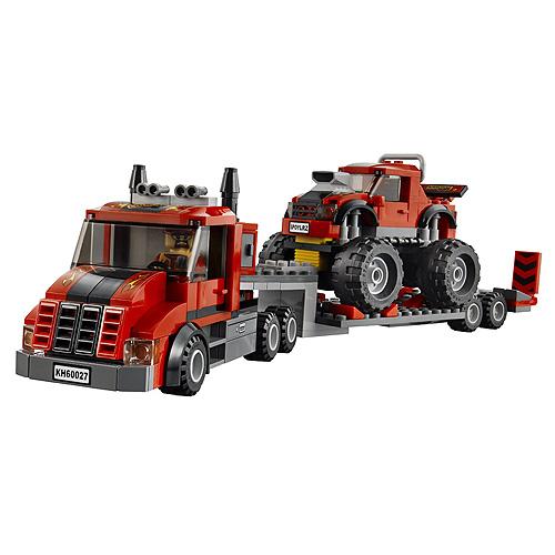 Lego City 60027 Конструктор Лего Город Транспортёр монстрогрузовика