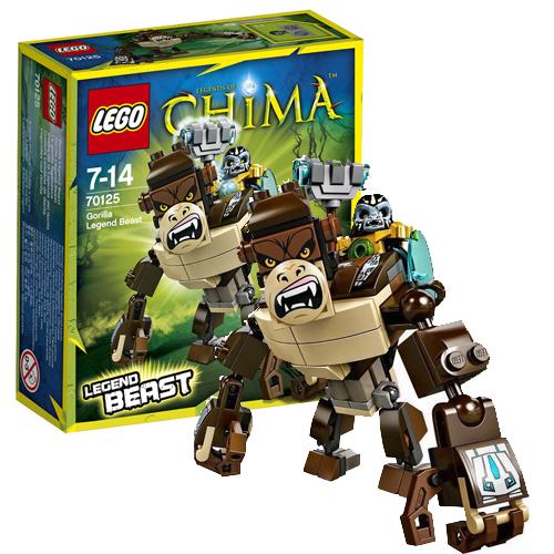 Lego Legends of Chima 70125 Конструктор Легендарные Звери: Горилла