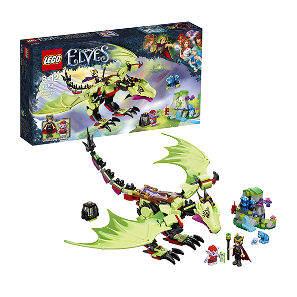 Lego Elves 41183 Лего Эльфы Дракон Короля Гоблинов lego 8 lego elves 41077 лего эльфы летающие сани эйры