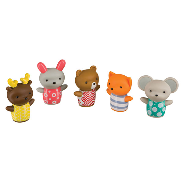 Happy Baby 32024 Набор игрушек на пальцы LITTLE FRIENDS